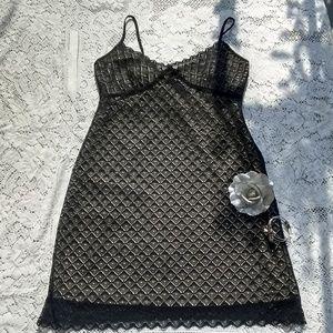 ☀️Black Lace Dress.